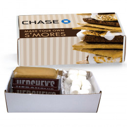 S'mores Microwave Kit in Mailer Box