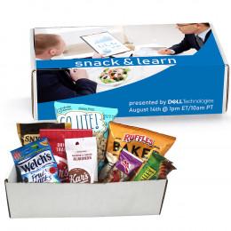 Custom Snack & Learn Meeting in a Box