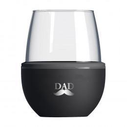Custom Asobu® Self-Chilling Wine Glass and Kuzie