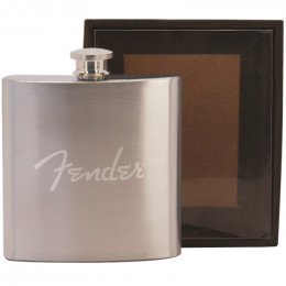 Custom Bevvy 6oz Stainless Steel Flask in a Black Gift Box