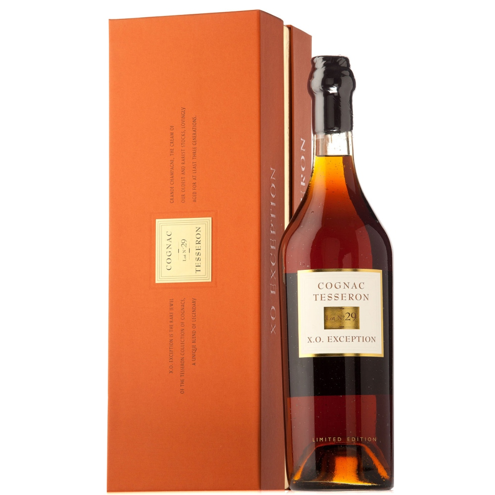 Tesseron XO Exception Lot 29 Cognac - Complementary Elegant Packaging