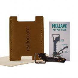 Custom Leather Card Sleeve and Keychain Multi-Tool
