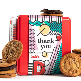 Thank You Fresh Baked Assorted Cookies Tin