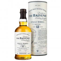 The Balvenie 12-Year-Old Single Barrel First Fill Single Malt Scotch Whisky 750ml