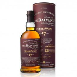 The Balvenie DoubleWood 17-Year-Old Single Malt Scotch Whisky 750ml