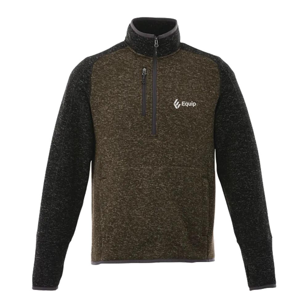 Vorlage Half Zip Custom Knit Jacket - Men's