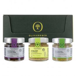 Oliviers and Co Olive Tapenade Trio