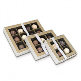 Ghyslain's Chocolate Truffle Harmonie Collection Gift Box