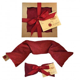 Red Ultra Suede Gift Set