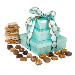 V Chocolate Indulgence Gift Tower