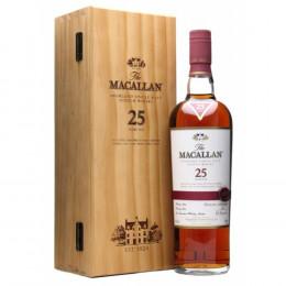 The Macallan Sherry Oak 25-Year-Old Single Malt Scotch Whisky 750ml