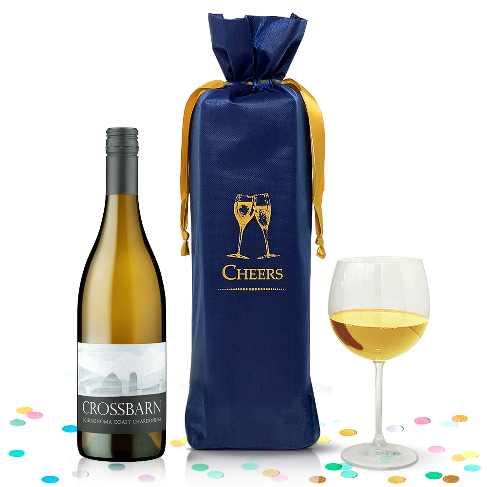 Paul Hobbs CrossBarn Sonoma Coast Chardonnay 2018 750ml - Complementary Elegant Packaging