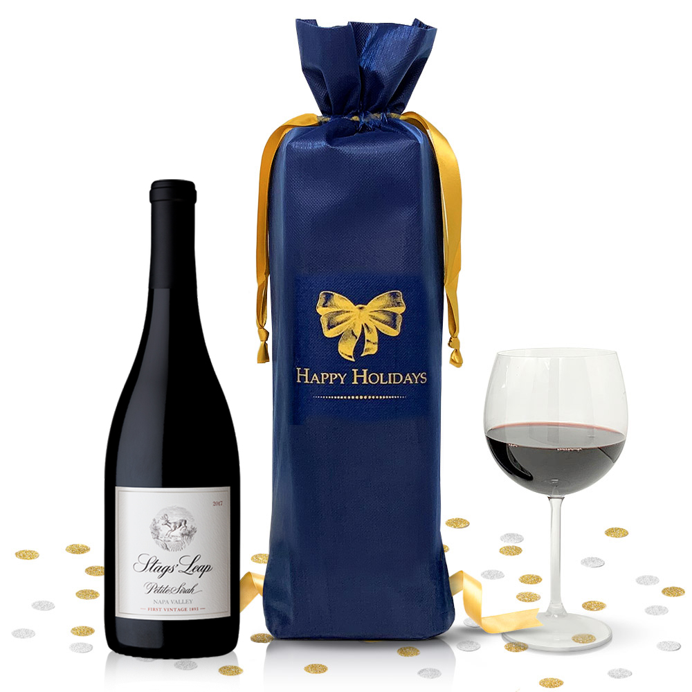 Stags' Leap Winery Petite Sirah 2017 750ml - Complementary Elegant Packaging