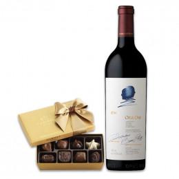 Opus One & Truffles Wine Gift  Set