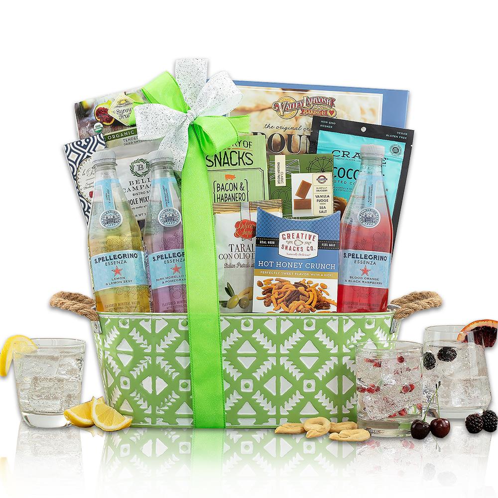 San Pellegrino Essenza Mineral Water Gift Basket