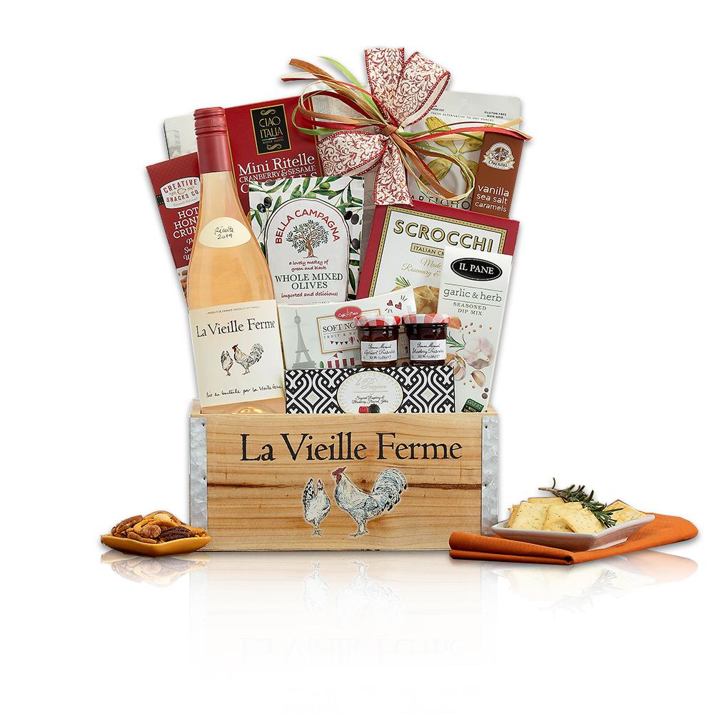 La Vieille Ferme Rose French Gift Basket