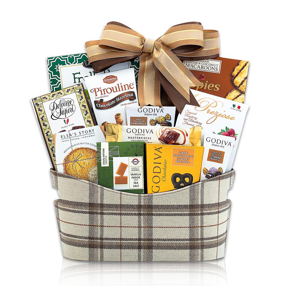 Godiva Chocolate and Sweets Gift Basket
