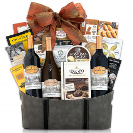 Chateau St. Jean California Collection Gift Basket