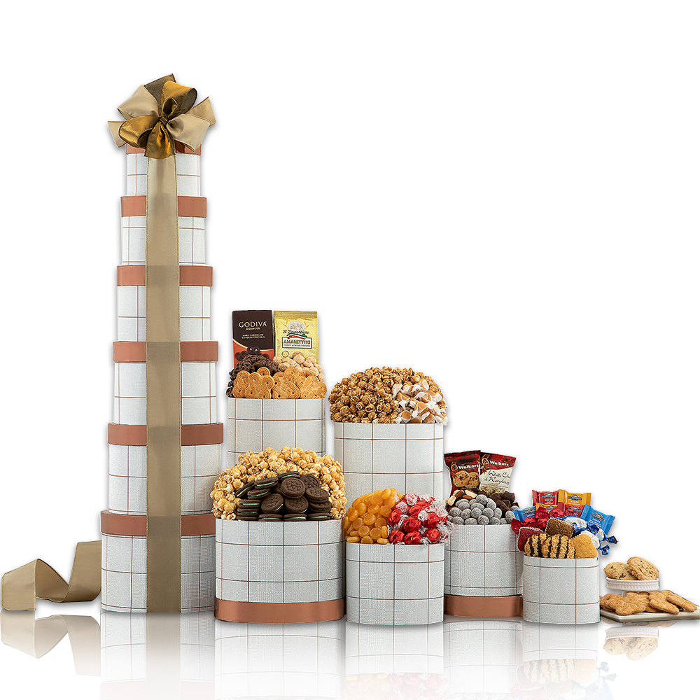 Ultimate Chocolate, Cake & Sweets Tower - 3ft+