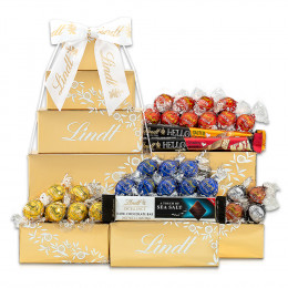Lindt Chocolate Gift Tower