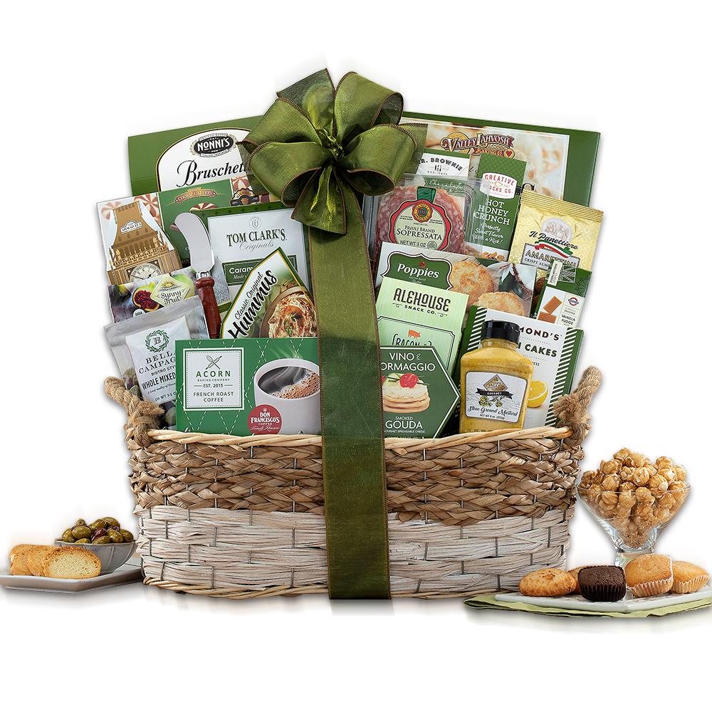 My Condolences Gift Basket