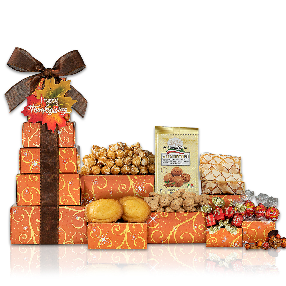 Thanksgiving Gift Tower