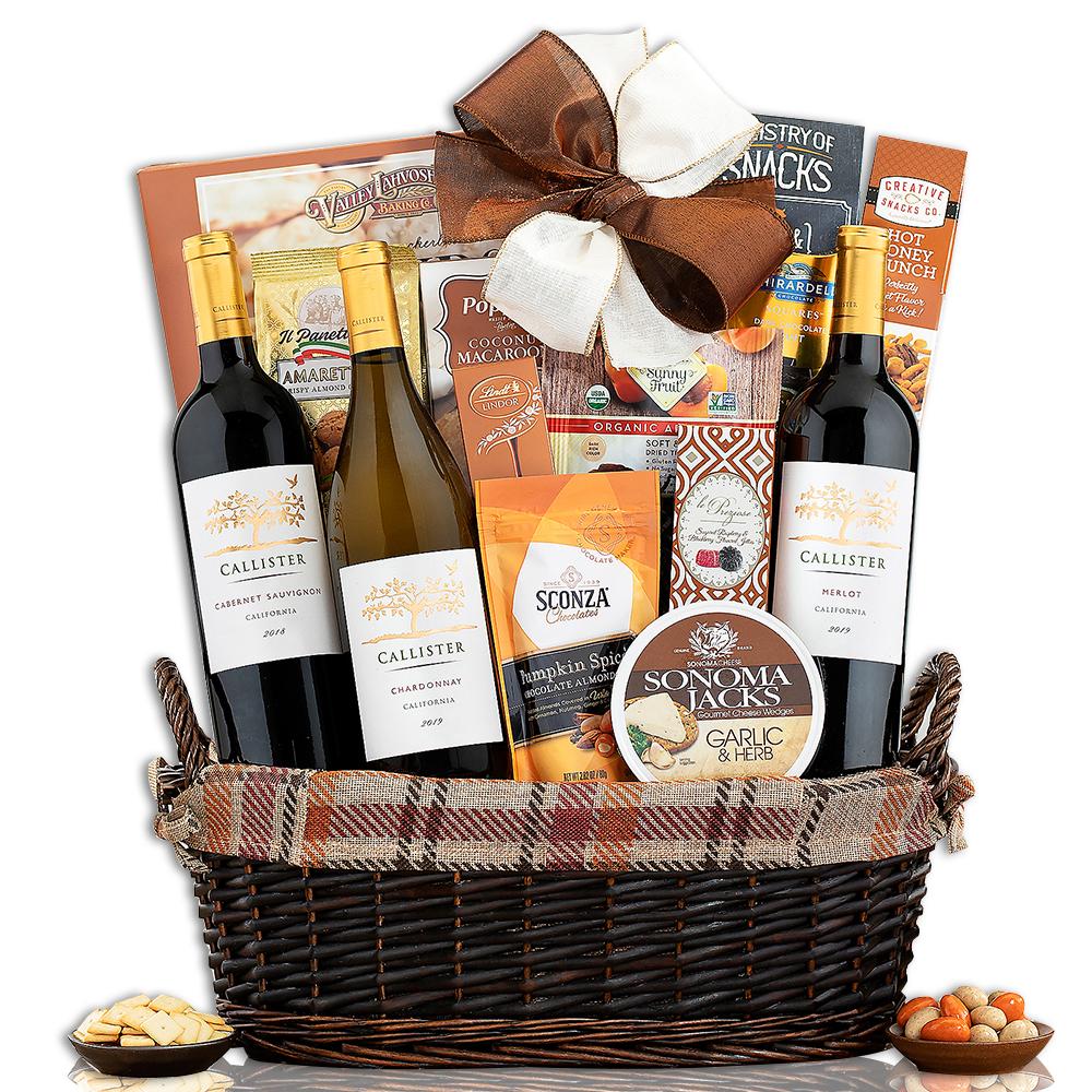 Callister Cellars Harvest Wine Basket
