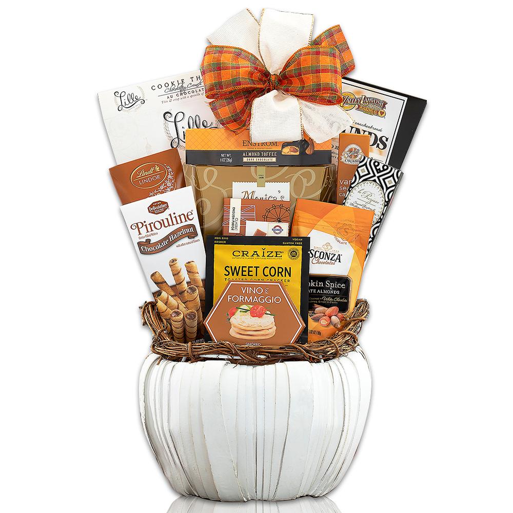 Fall Pumpkin Collection Gift Basket