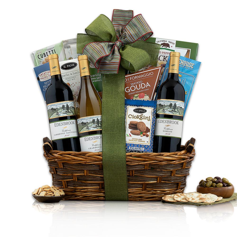 Edenbrook Vineyards Trio Wine Basket