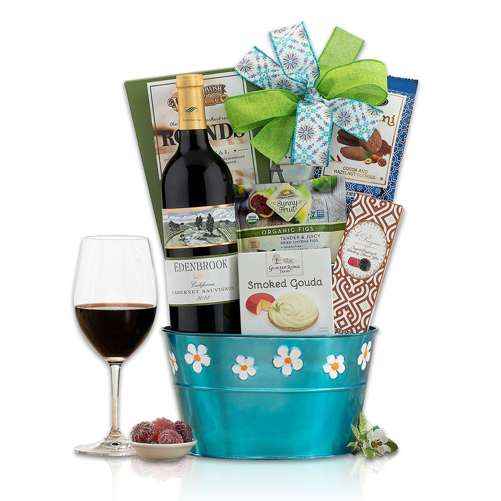 Edenbrook Vineyards Cabernet Wine Gift Basket