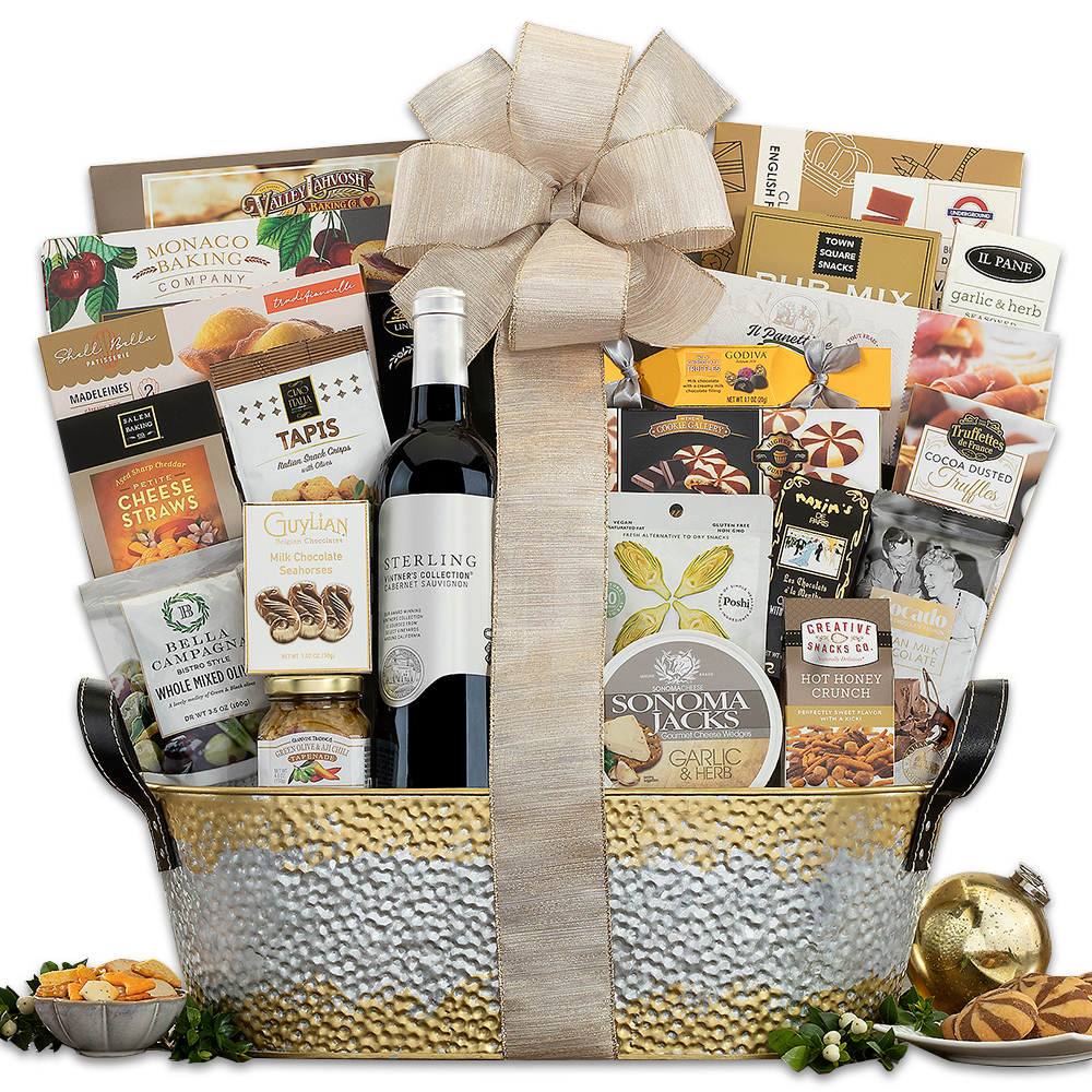 Sterling Vineyards Cabernet Thank You Assortment Gift Basket