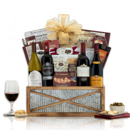 California Red and White Wine Crate