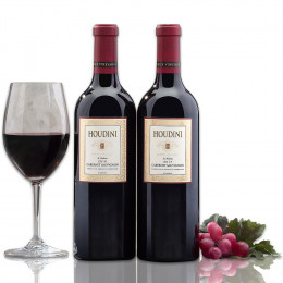 2 Bottles Houdini Napa Valley Cabernet Sauvignon