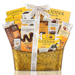 Godiva Pure Decadence Chocolate Gift Basket