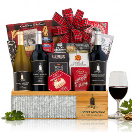 Robert Mondavi Private Selection Wine Gift Basket