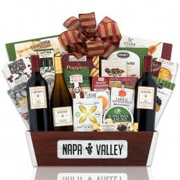 Houdini Napa Valley Trio Wine Basket