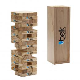 Custom Engraved Tumbling Tower Game