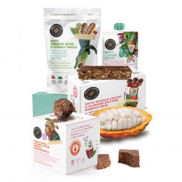 Whole Cacao Pre/Post Workout Gift Set by Blue Stripes