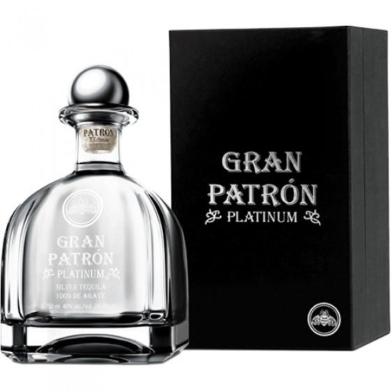 Gran Patron 750ml Platinum Tequila