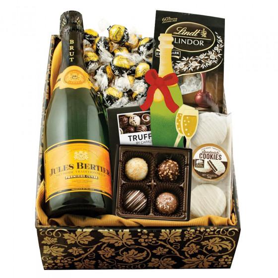 Champagne & Truffles Gift Box - Celebrate