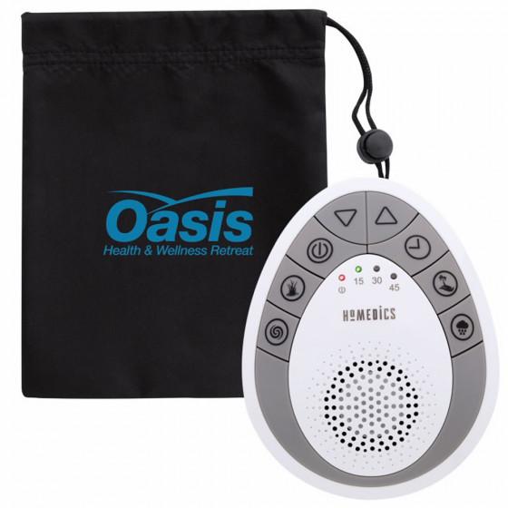 Custom HoMedics® Portable Sound Spa