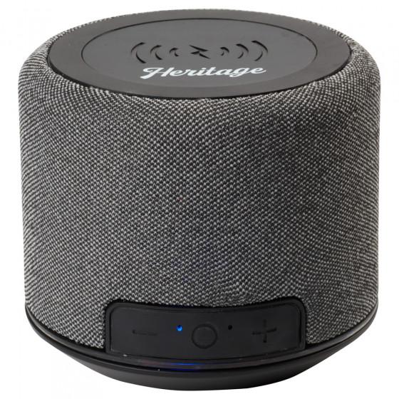 Custom Forward Fabric Speaker with Wireless Charging