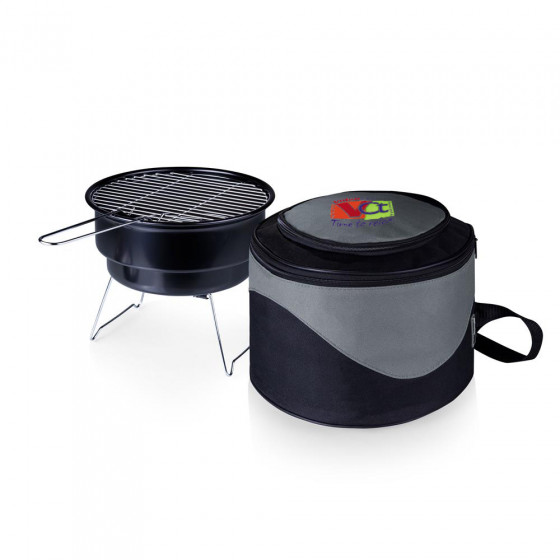 Custom Caliente Portable Charcoal BBQ Grill