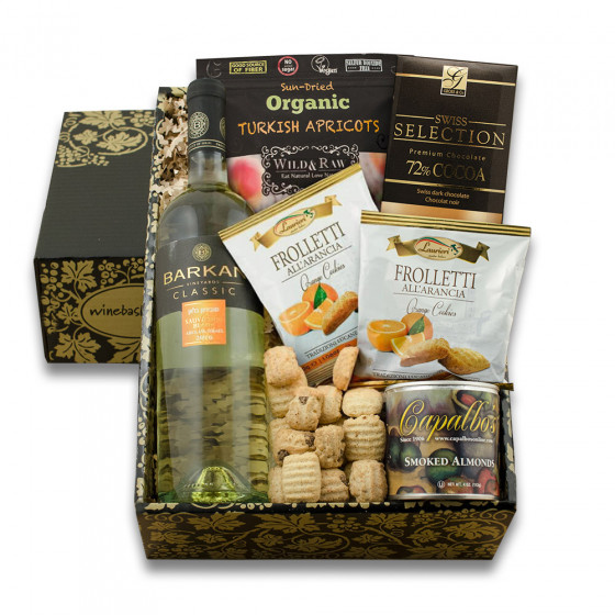 Sauv Blanc & Gourmet Gift Box
