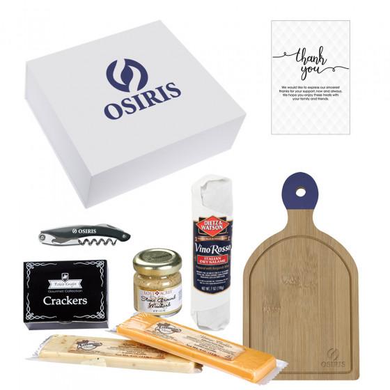 Custom Charcuterie, Cheese Board and Utility Knife Gift Set