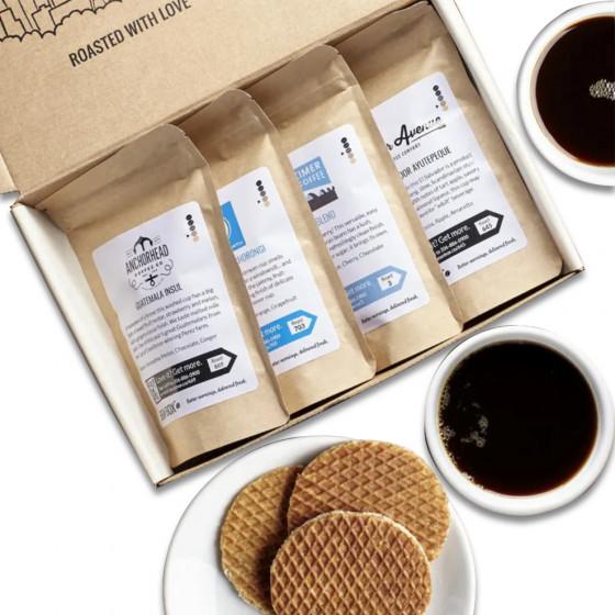 Bean Box Coffee Sampler - Three Months Subscription Gift