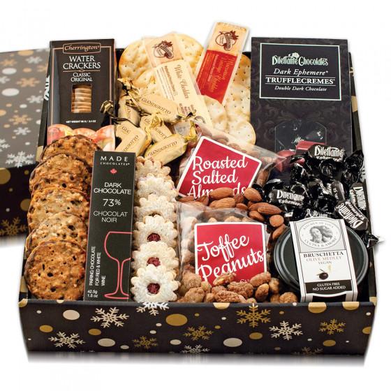 Snowflake Gourmet Gift Box