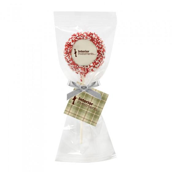 Chocolate Covered Oreo® Logo Pops