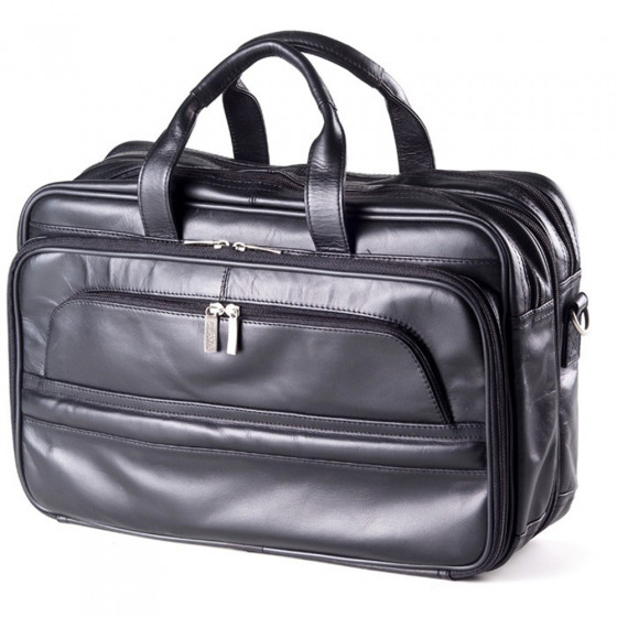 Custom Leather Executive Laptop Briefcase