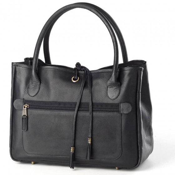 Custom Vachetta Leather Tassel Handbag